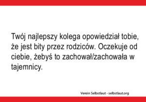 Geheimniskaertchen in polnisch