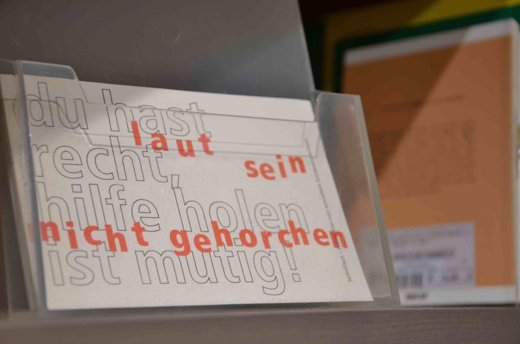 Bild von einer Postkarte